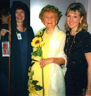 Eden Gray with Mary Greer and Barbara Rapp