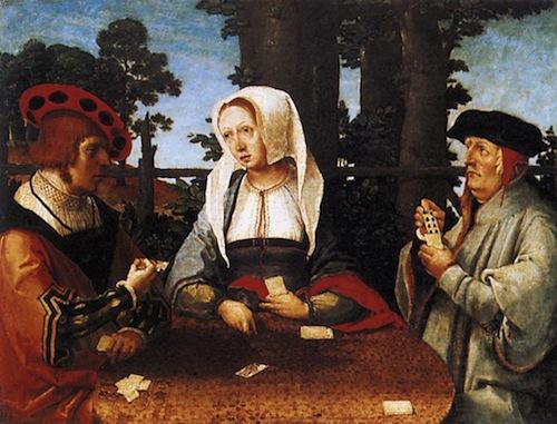 von Leyden - card players