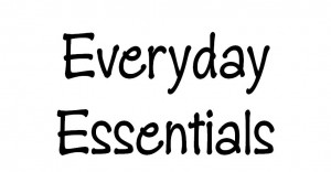 Everyday essentials