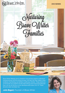 brave writer retreat review