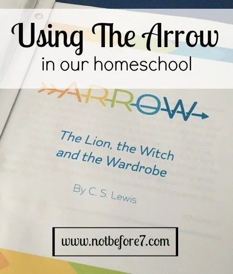 Using the Brave Writer Arrow Guides