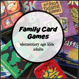 Our family loves to play card games. Click to find out the ones we can ALL enjoy together!