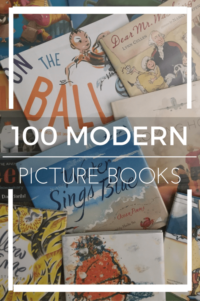 A fantastic list of 100 Modern Picture Books. This is where you will find your future classics! Check out the list and download the list in a free PDF!