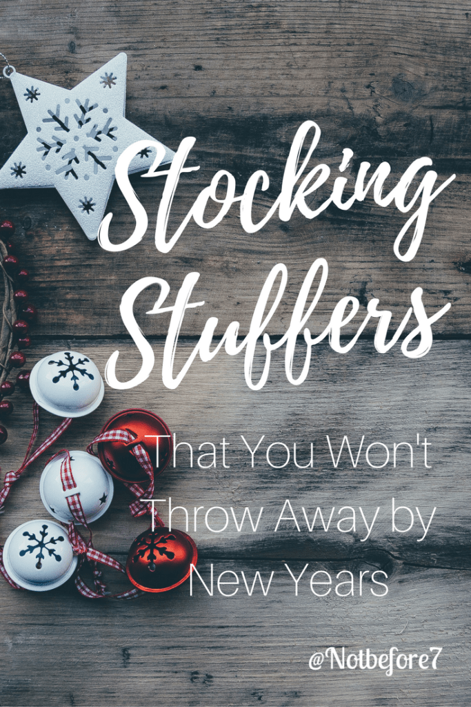 More than 80 ideas for stocking stuffers that are worth the money. You won't want to throw these away by New Years!
