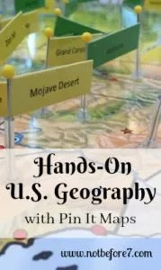 Learn how to use Pin It Maps for studying US History and Geography. Add some hands-on fun to your home, classroom, or homeschool.