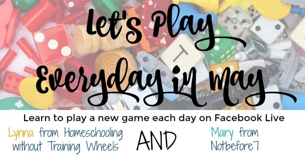 Come play everyday in May with me - games for every subject!