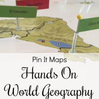 Hands On World Geography with Pin It Maps