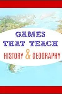 Games that teach ideas for History and Geography.