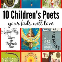 Ten Children's Poets Your Kids Will Love