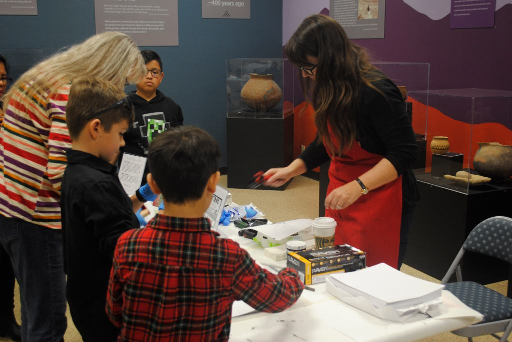 Teaching Art at Victor Valley Museum
