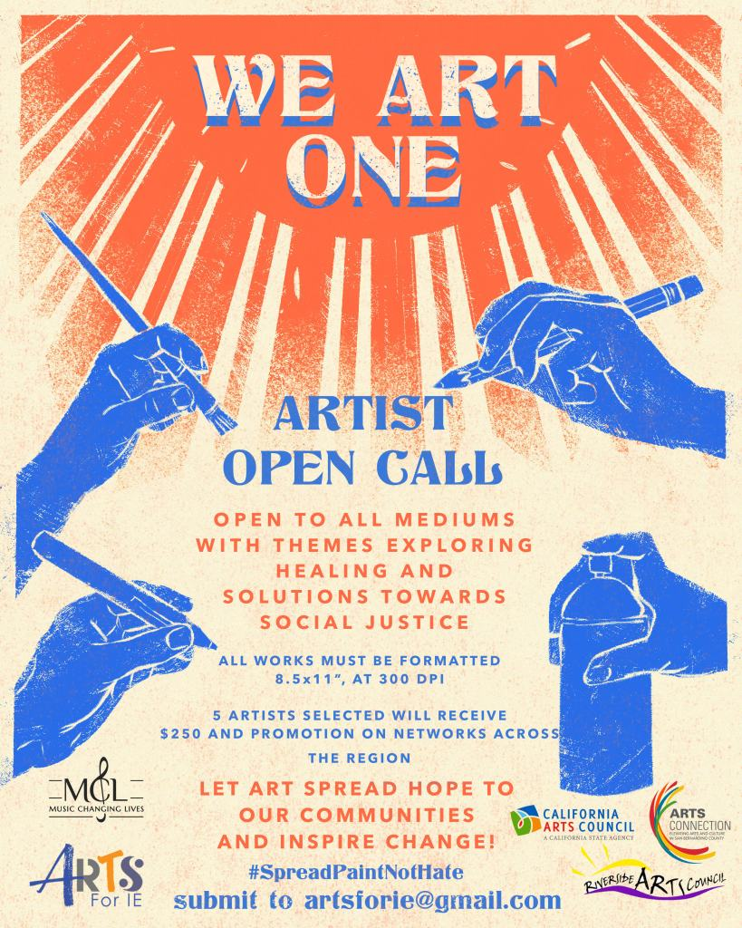 Arts Connection Network Artist Call