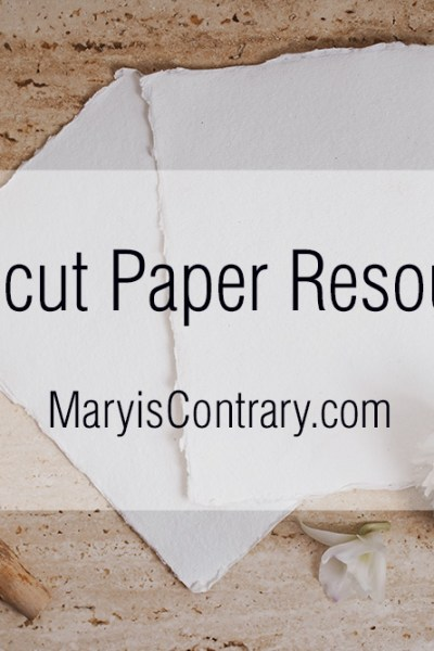 Linocut Paper Resources