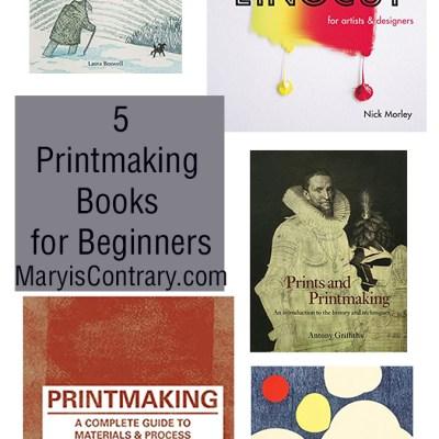 5 Printmaking Books for Beginners