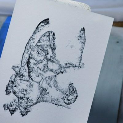 Trace Monotype Printmaking