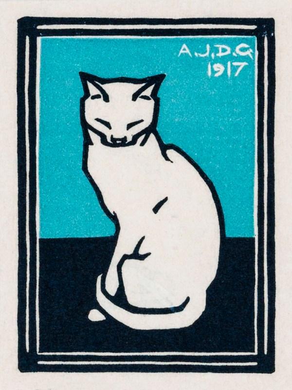Sitting Cat Printable