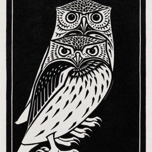 Two Owls Printable