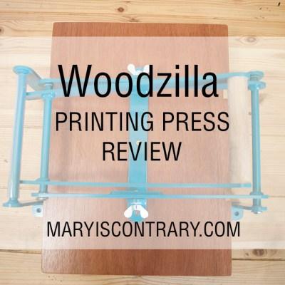 Woodzilla Printing Press Review