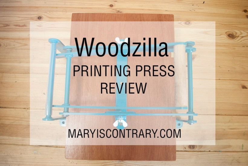 woodzilla printing press review featured image