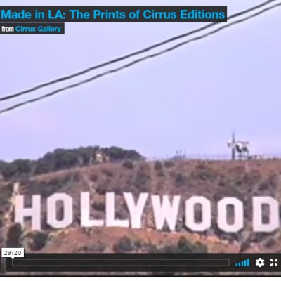 Made in LA: Celebrating Printmaking with Cirrus Editions