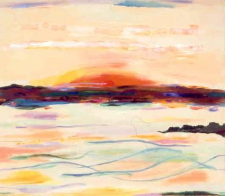 """42"""" x 48"""" Acrylic on Canvas - Framed"""