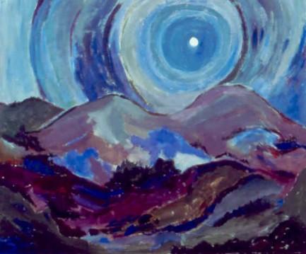 """46"""" x 57 7/8"""" Acrylic on Canvas - Framed"""