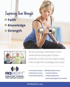 FKS MedFit Poster Design