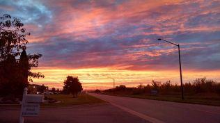 Beauty in a sunrise