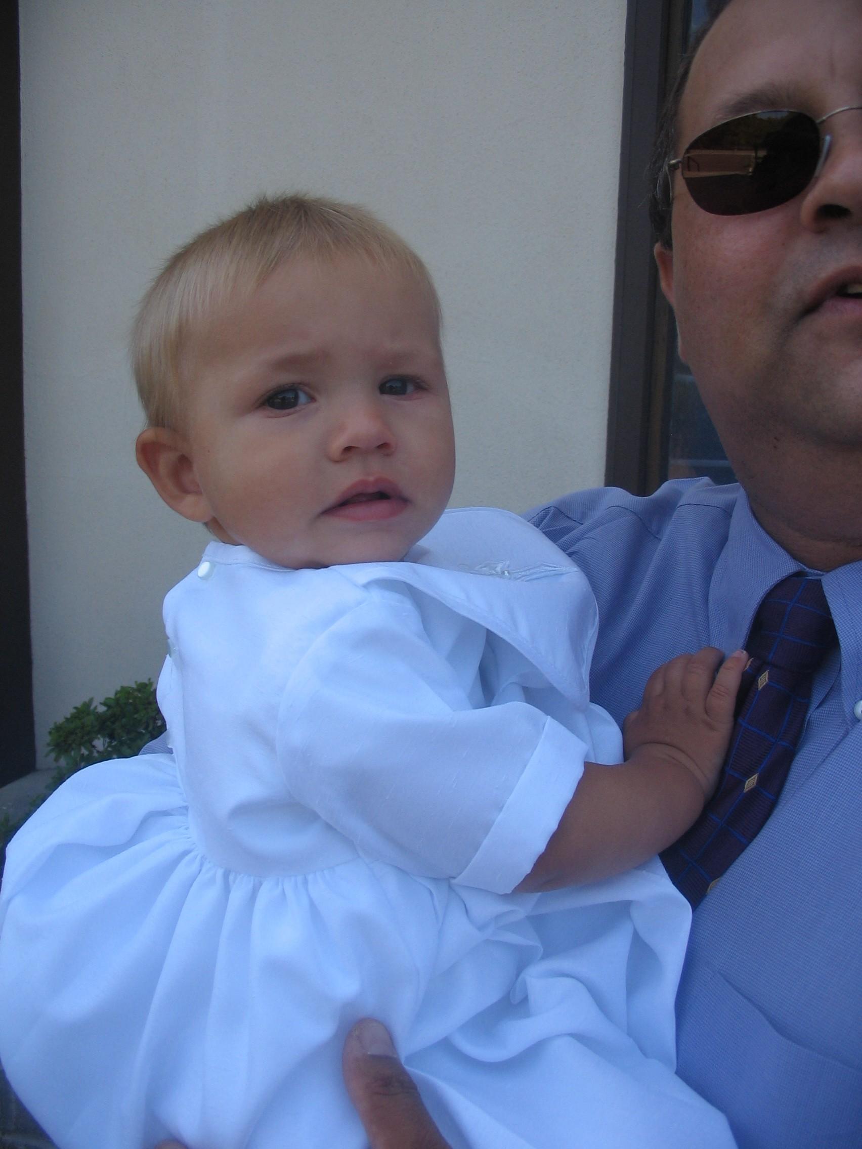 APB is baptized.