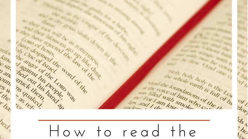 How to Read the Bible in a Year