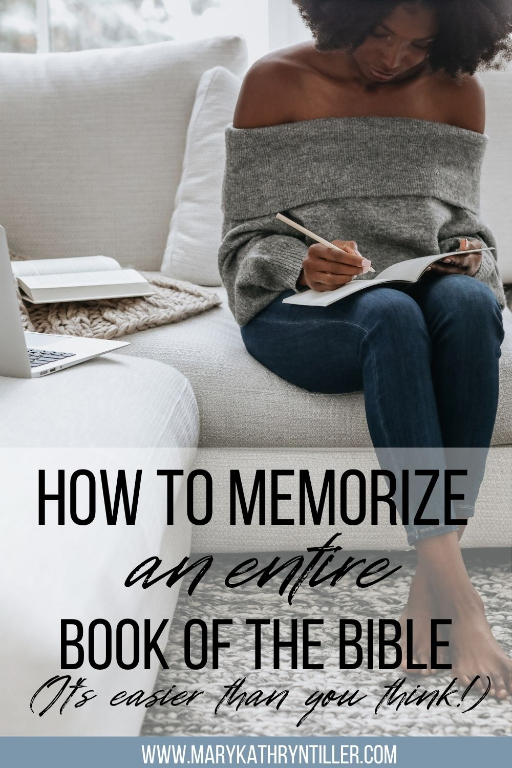 How to memorize an entire book of the bible