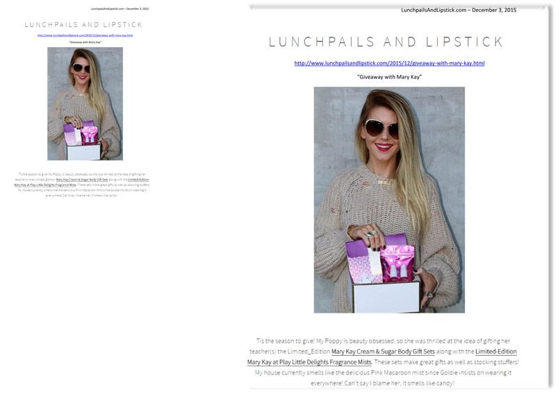 LunchpailsAndLipstick.com, December 2015