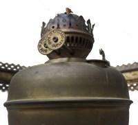 English oil lamp
