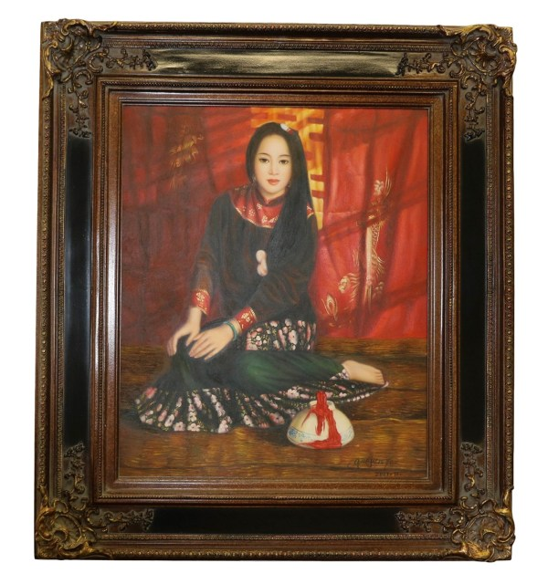 Chinese Style Oil Painting