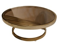 Milo Baughman mid century modern Glass Coffee Table Zig ...