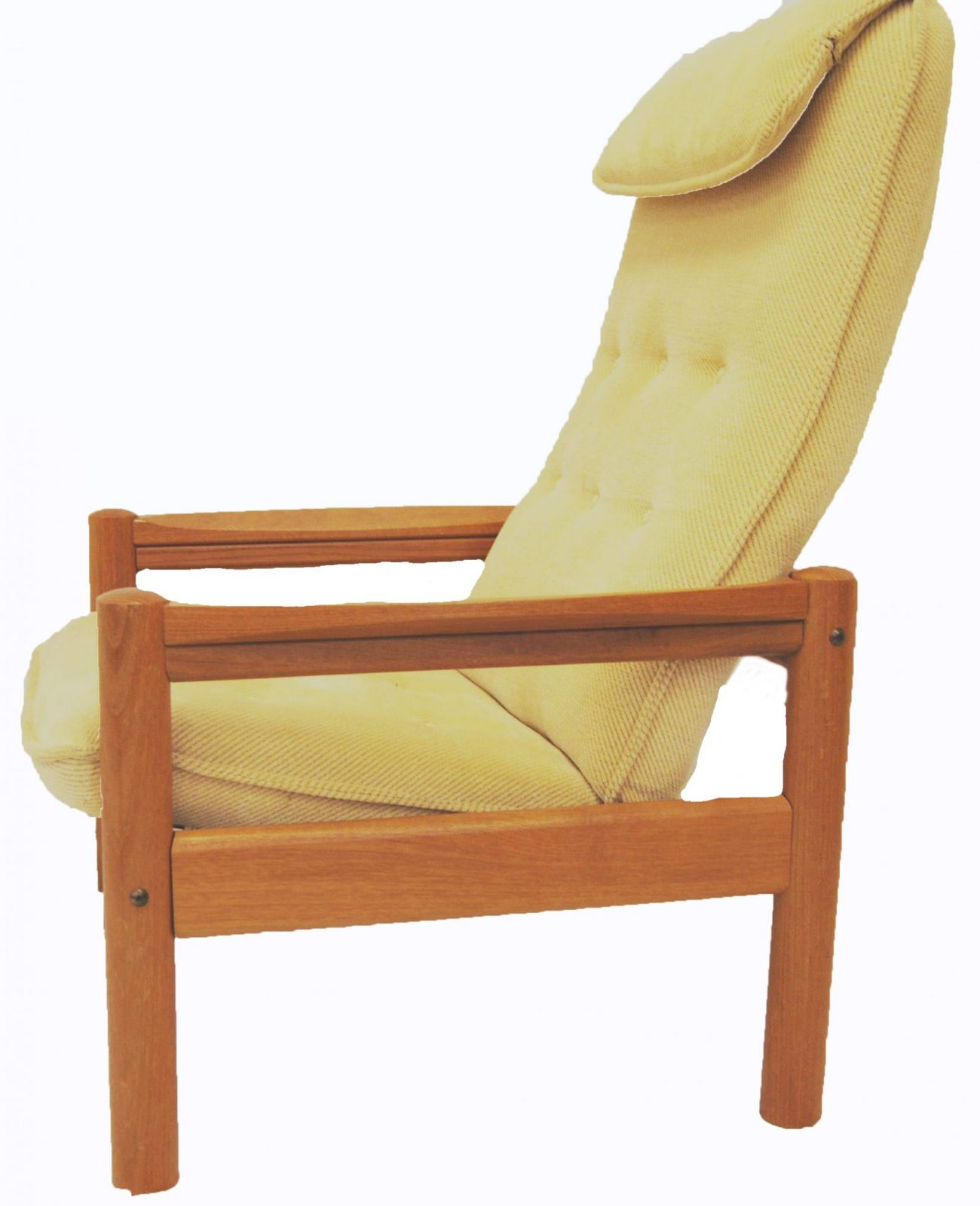 Mid Century Danish Chair Mid Century Danish Modern Domino Mobler Teak Lounge Chair