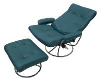Ekornes Scandinavian Mid Century Reclining Lounge Chair ...