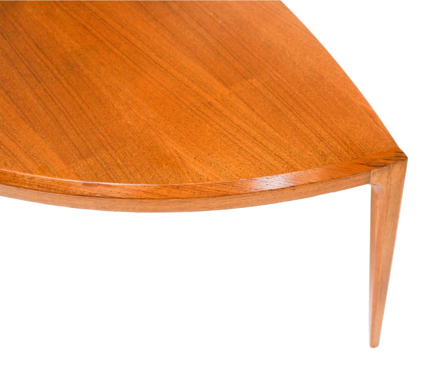 MidCentury Danish Johannes Andersen Teak Coffee Table