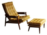 Danish Mid- Century Lounge Chair