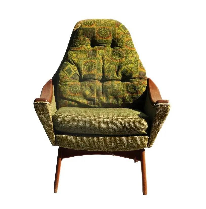Mid Century Modern Adrian Pearsall Style Arm Chair