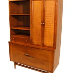 Mid Century Modern American Of Martinsville China Cabinet Hutch