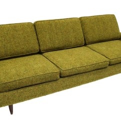 Side Chairs With Arms For Living Room Gold Curtains Ideas Mid-century Modern Green Upholstered Sofa