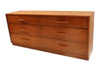 Mid Century Modern Heritage Henredon Lowboy Dresser