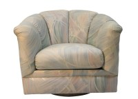 Mid Century Modern Precedent Swivel Club Lounge tub Chair ...