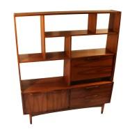 Mid Century Modern Room Divider Bookcase hutch