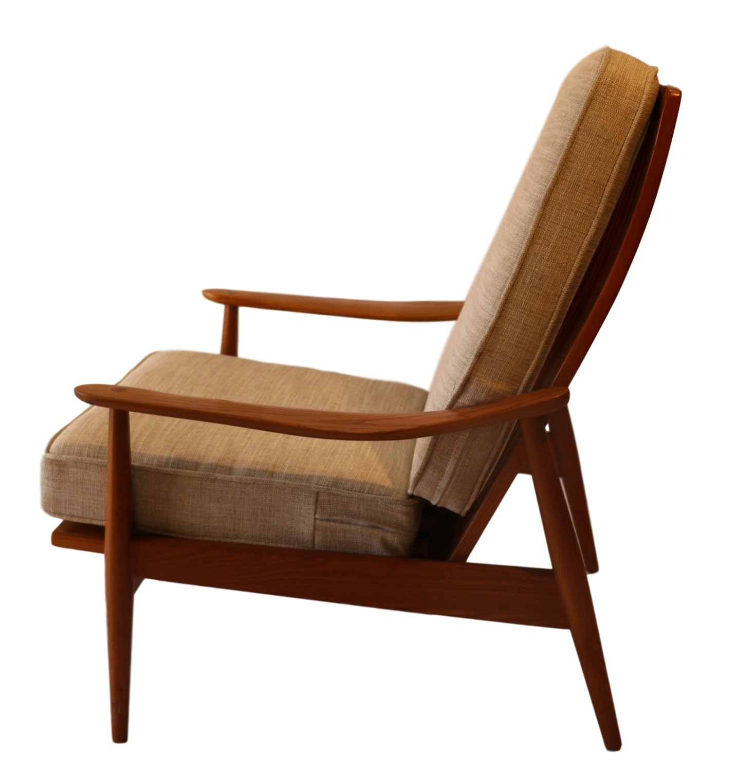 Midcentury Chairs Mid Century Modern Teak High Back Lounge Chair