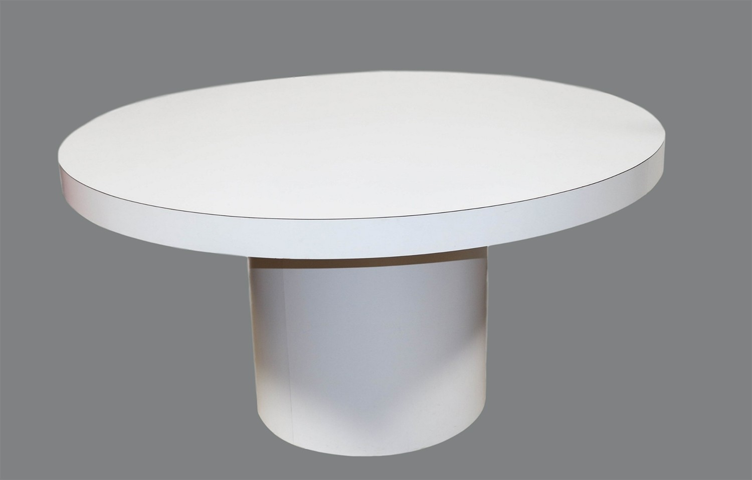 White Round Dining Room Table