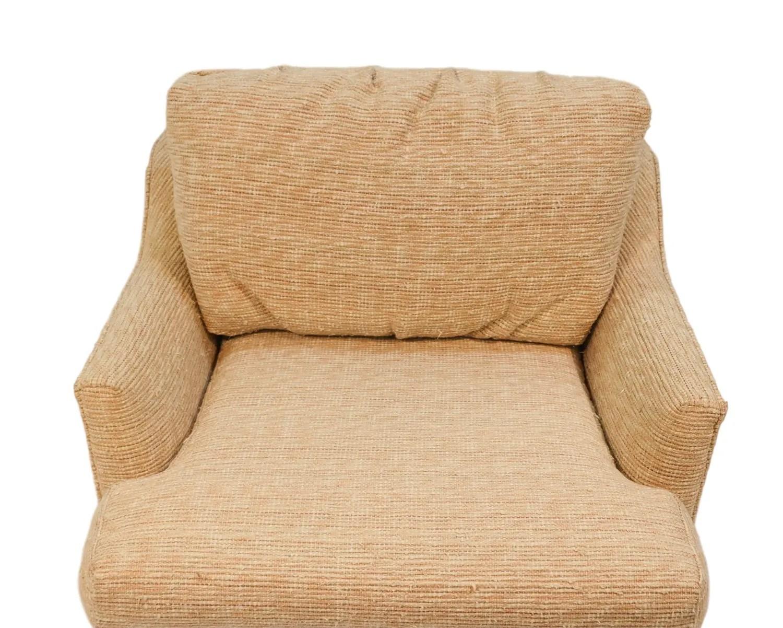 swivel chair mid century design templates tub lounge milo baughman style