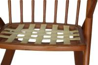 Teak rocking chair by Frank Reenskaug