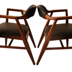 Mid Century Modern Side Chair Cohesion Gaming Pair Leather Chairs