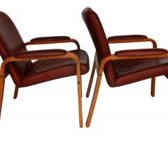 Ekornes Chair Accessories Linen Parson Slipcovers Pair Of Leather And Teak Wood Chairs